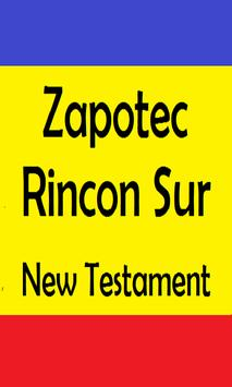 ZAPOTEC RINCON SUR HOLY BIBLE poster