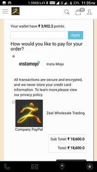 Zeal Wholesale Trading Company screenshot 1