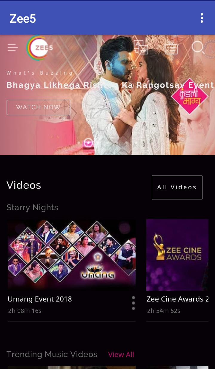 ZEE5 - Unlimited Entertainment Shows for Android - APK Download