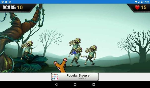 Zombie Attack One screenshot 2