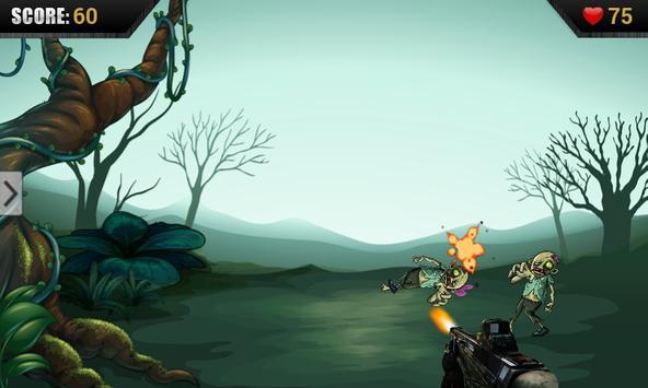 Zombie Tap Kill apk screenshot
