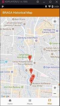Braga Historical Map screenshot 2