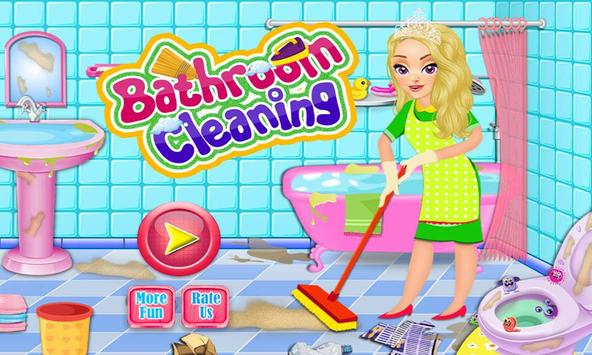 Bathroom Clean Up & Makeover poster
