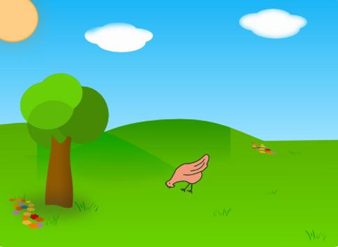 Wacky chicken screenshot 1
