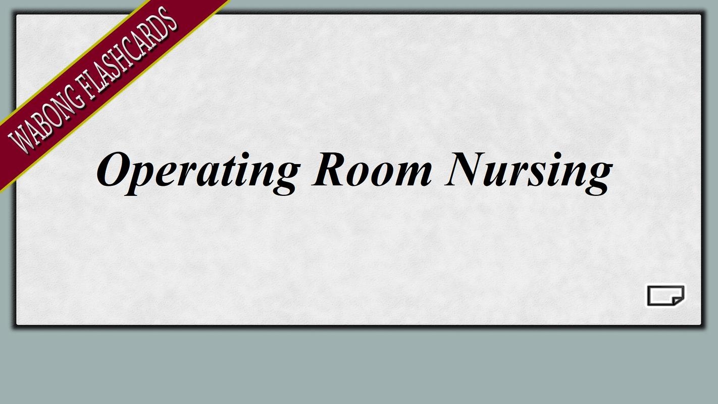 Certified Nurse Operating Room Cnor Practice Exam For Android Apk