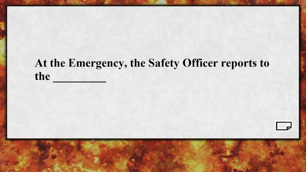 Firefighter Flashcards poster