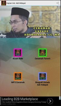 Kajian Sunnah Ustadz Adi Hidayat poster