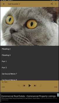 Meow Cat Sounds captura de pantalla 4