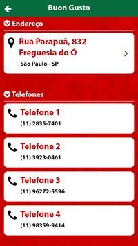 Buon Gusto Parapuã screenshot 2