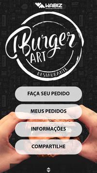 Burger Art poster