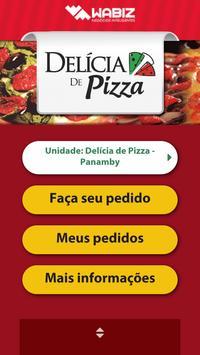 Delícia de Pizza poster