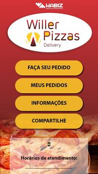 Willer Pizzas poster