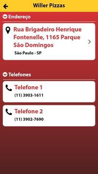 Willer Pizzas screenshot 2