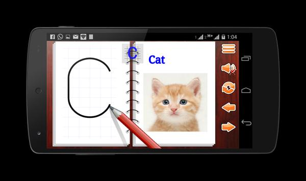LETTERS Write English ABC 123 apk screenshot