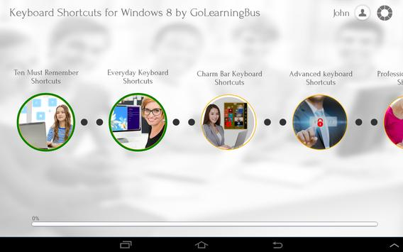 Keyboard Shortcuts for Win8 apk screenshot