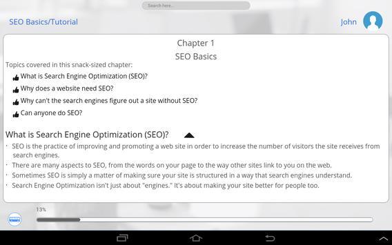 Learn SEO screenshot 12