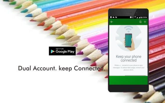 WA Web Dual Messenger App apk screenshot
