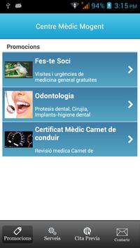Centre Medic Mogent mobile poster