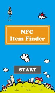 NFC Item Finder poster