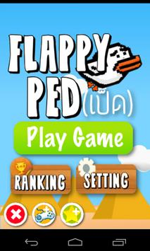 Flappy Ped ( Duck ) poster