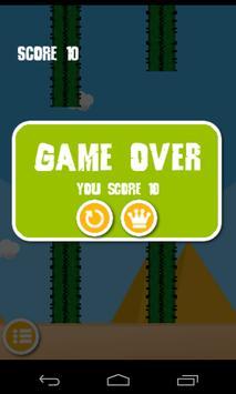Flappy Ped ( Duck ) screenshot 2