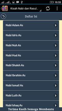 Mengenal Kisah Nabi Dan Rasul apk screenshot