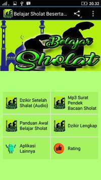Belajar Sholat&Dzikir Lengkap poster