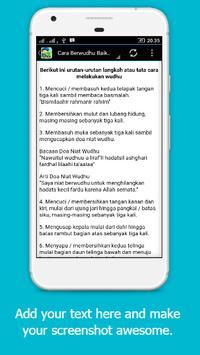 Tuntunan Wudhu Anak Moeslim screenshot 2
