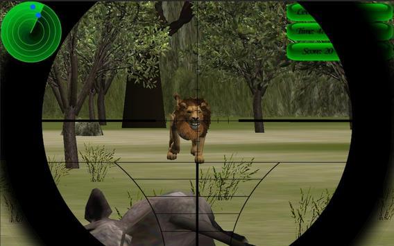 WILD ANIMAL HUNTER 3D apk screenshot