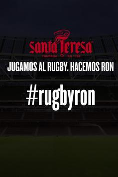 RUGBYRON poster