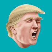 Trump Fly On The Sky icon