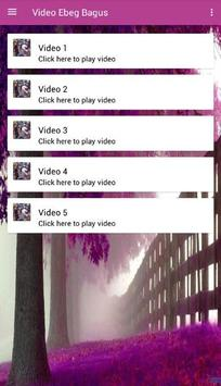 Video Ebeg Bagus apk screenshot