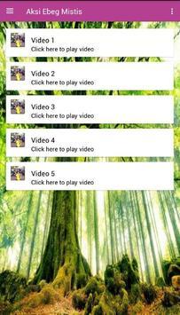 Aksi Ebeg Mistis apk screenshot