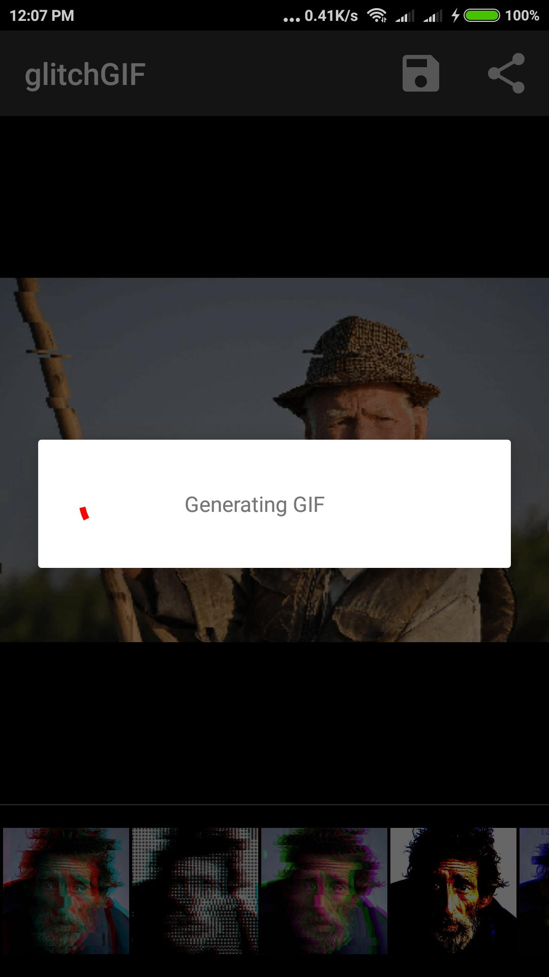 Glitch GIF Effect - Animated Photo Editor for Android - APK