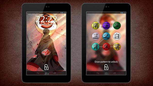 Akatsuki (暁) Anime Lock Screen & Wallpapers screenshot 8