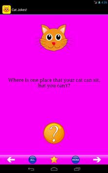 Cat Jokes! apk screenshot