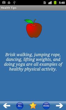 Health Tips ポスター