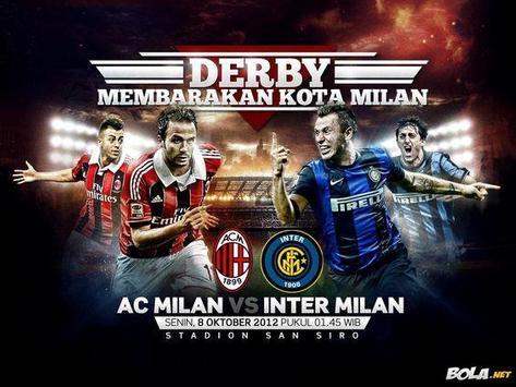 AC Milan vs Inter Milan Wallpaper poster