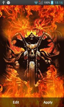 Ghost Rider Wallpaper HD Apk Screenshot