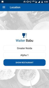 WaiterBabu -Order your food before you arrive (Unreleased) screenshot 1