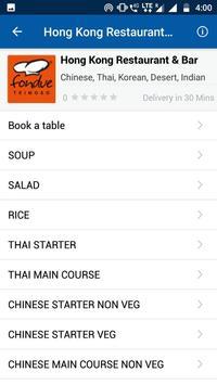 WaiterBabu -Order your food before you arrive (Unreleased) screenshot 2