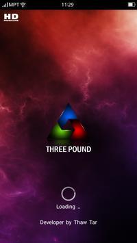 ThreePound poster