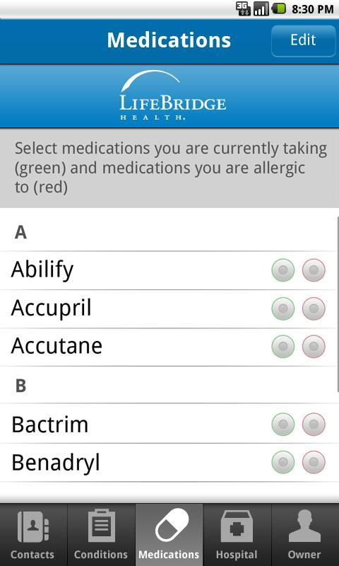 LifeBridge Health ICE for Android - APK Download