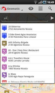 Cyprus Geomatic Map screenshot 4
