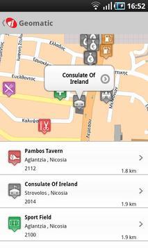 Cyprus Geomatic Map screenshot 5