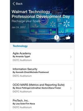 Walmart Tech Events apk screenshot