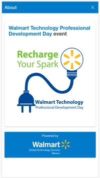 Walmart Tech Events poster