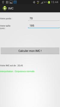 IMCalculator apk screenshot