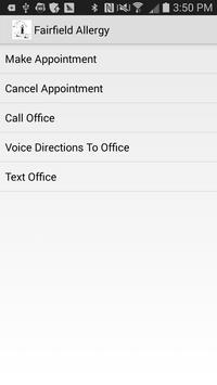 FCAAIA Allergy Scheduler apk screenshot