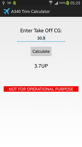 Airbus 340-300 Trim Calculator for Android - APK Download